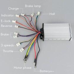 KUNRAY wysokiej jakości bezszczotkowy regulator prędkości silnika 12Mosfet 800 W 1600 W 48V DC E rower elektryczny akcesoria do skuterów w Akcesoria do rowerów elektrycznych od Sport i rozrywka na