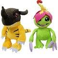 Новое Прибытие 32 см Digimon Greymon Palmon Плюшевые Игрушки Супер Мягкие Плюшевые Игрушки Kawaii Плюшевые Детские Игрушки Летию Со Дня Рождения Подарок