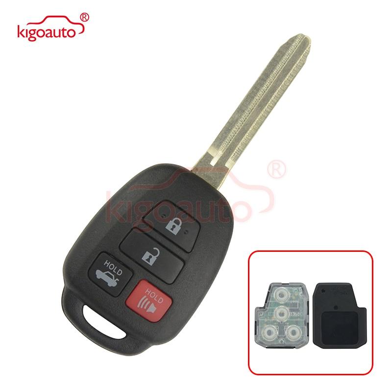 HYQ12BDM keyelësi i largët 4 buton lodër43 brisk 314.4Mhz me çip G për Toyota Camry 2012 2013 2014 89070-06421 89070-06420 kigoauto