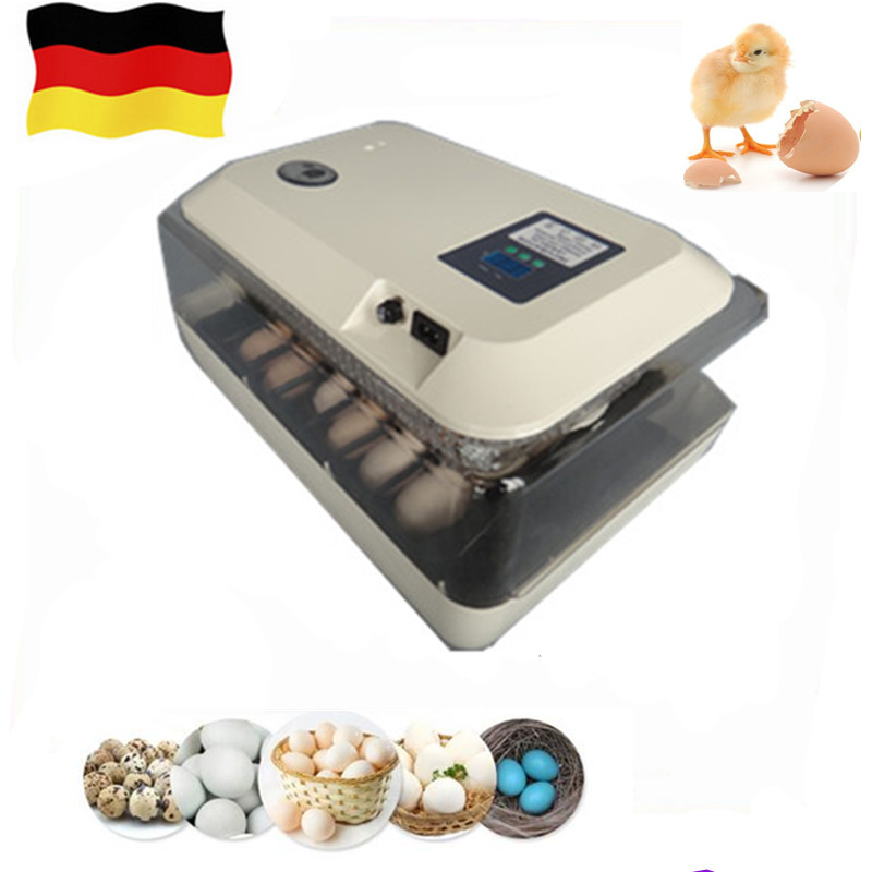 24 eggs mini chicken hatchers home use brooder machine small poultry incubator multifunctional hatching tool home hatchery eggs incubator automatic brooder poultry machines hatching eggs
