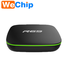 10 шт. R69 Android 4.4 ТВ коробка DDRIII 1 ГБ + 8 ГБ Allwinner H2 четырехъядерный процессор (1.5 ГГц) Wi-Fi 802.11 B/G/N media player PK T6 Smart Box 2017