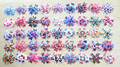 40pcs/lot kid Baby Girl Minions Monster High sofia princess Doc Mcstuffins ribbon Christmas hair bow clip accessories Xmas gift
