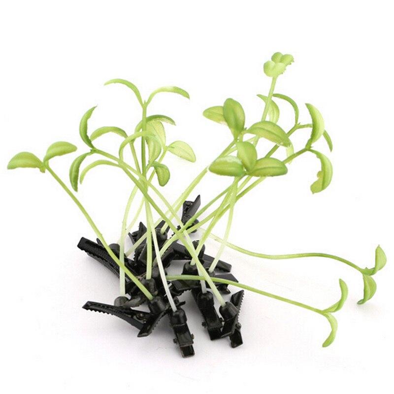 Lustige Zeigen Bean Sprießen Bobby Haarnadel Blume Pflanze Haar Clips Für Kinder Mädchen Frauen 4*6 Cm Jahre Lang StöRungsfreien Service GewäHrleisten Mutter & Kinder Haar-accessoires