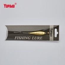 YAPADA Ice Fishing 520 Moon 6g 50X11X4 mm Single Hook Multicolor Metal Jigging Spoon Fishing Lures