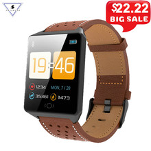 Wearable Device CK19 Smartwatch IP67 Waterproof Bluetooth Pedometer Heart Rate Monitor Color Display Smart Watch For Android/IOS цена