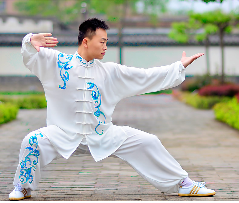 High-grade Embroidery Tai Chi Suits Taiji Uniforms Martial Arts Performing Clothing  Kungfu Clothing Wushu-clothes