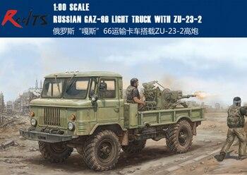 RealTS TRU01017 - Trumpeter 1:35 - Russian GAZ 66 Light Truck II