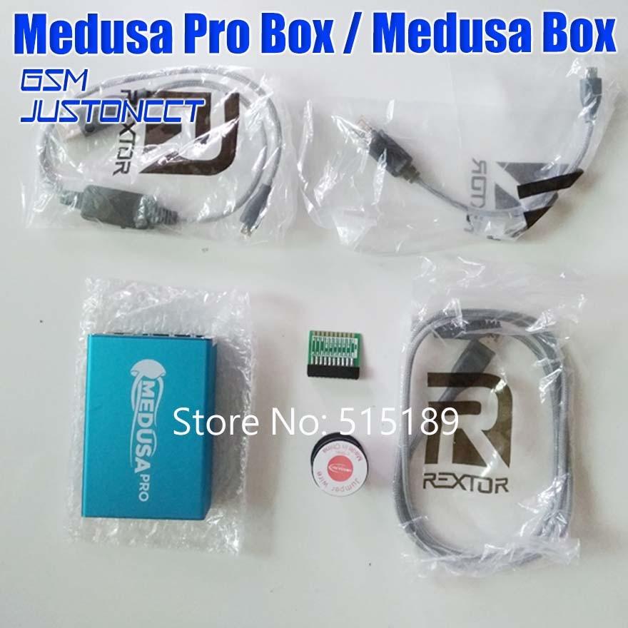 100% D'origine Boîte Medusa Medusa PRO Boîte Charges D'essai + JTAG Clip Pour LG Pour Samsung Pour Huawei