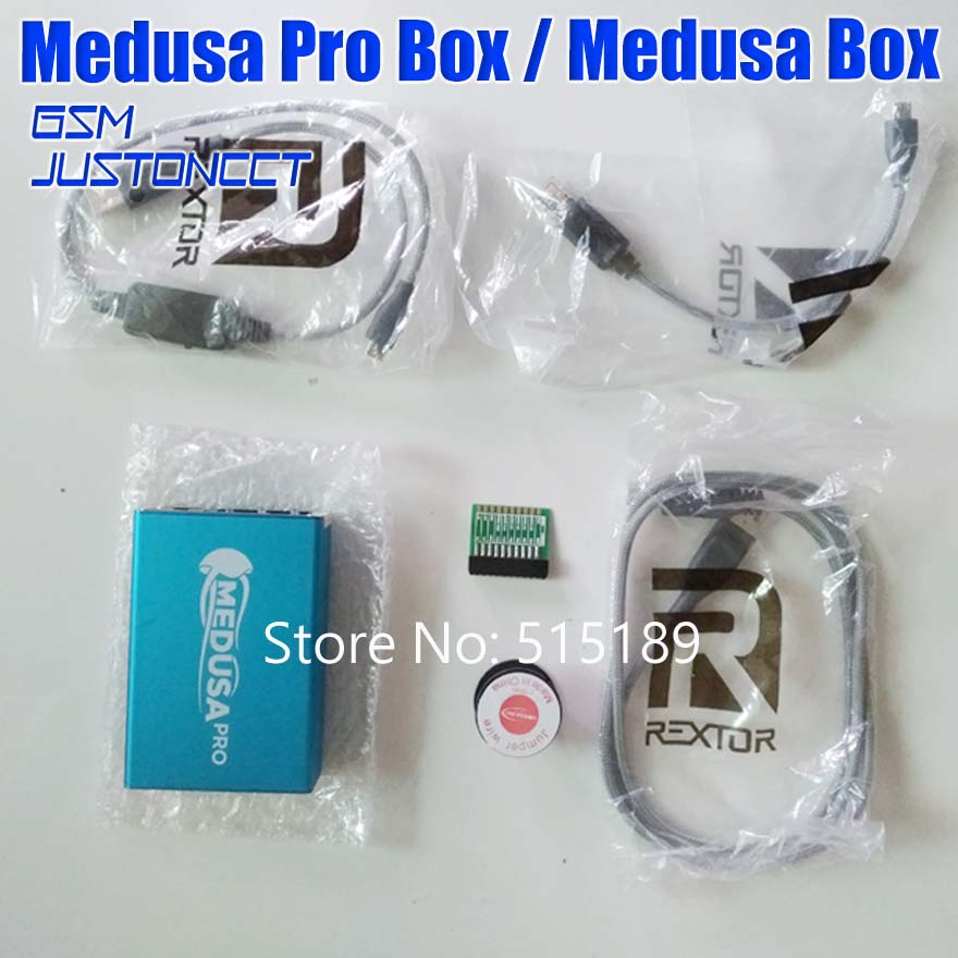 100% Original Medusa Box Medusa PRO Box Testpoints + JTAG Clip For LG For Samsung For Huawei