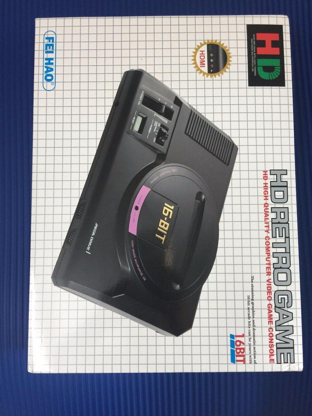 Portable Spielkonsolen Beliebte Marke Hdmi 16 Bit Video Spielkonsole Sega Mega Drive 1 Genesis High Definition Hdmi Tv Out Mit 2,4g Wireless Controlle Patrone Reich Und PräChtig Unterhaltungselektronik