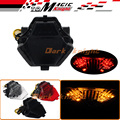 For YAMAHA YZF R25/R3 YZF-R25 YZF-R3 MT-25 MT-03 Motorcycle Integrated LED Tail Light Turn signal Blinker Lamp Smoke