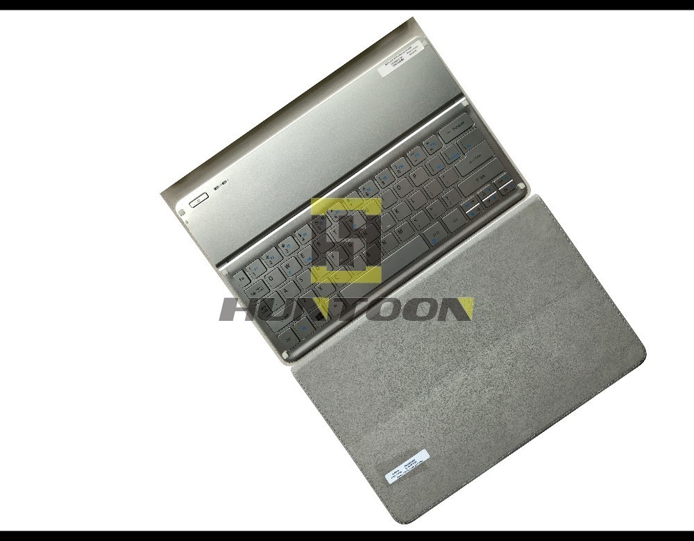 Genuine English Bluetooth Keyboard Dock and Tablet Case KT 1252 Silve For Acer Iconia Tab W700
