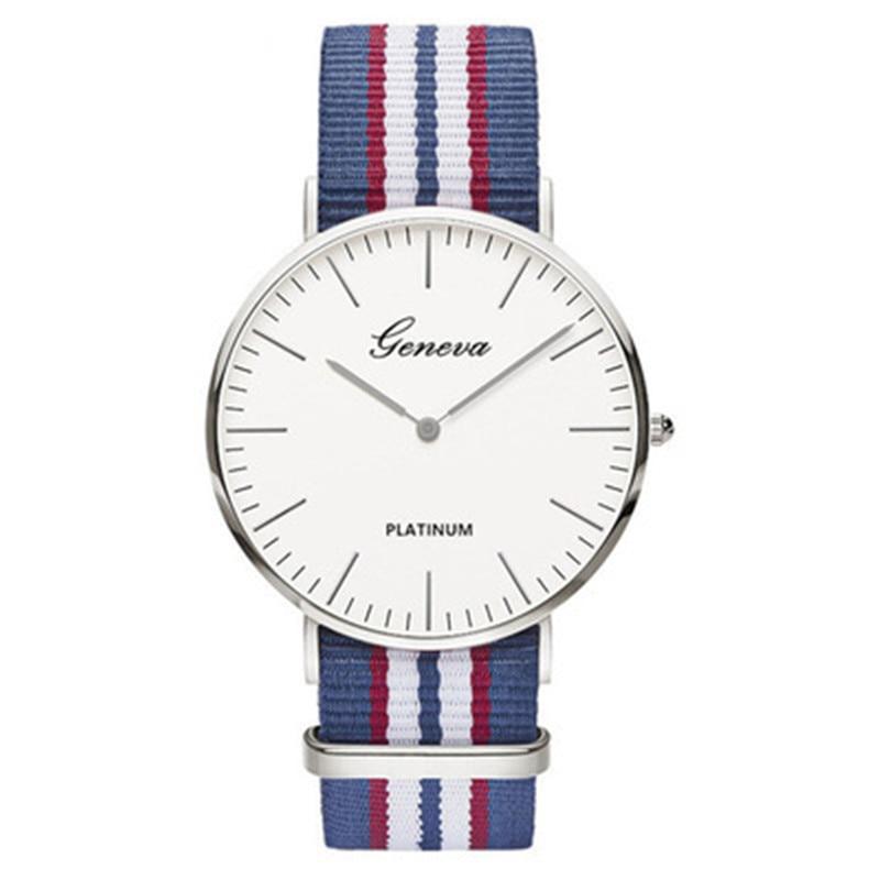 Hot Sale Nylon Strap Style Quartz Women Watch Top Brand Watches Fashion Casual Fashion Wrist Watch Relojes Montre Femme 2018