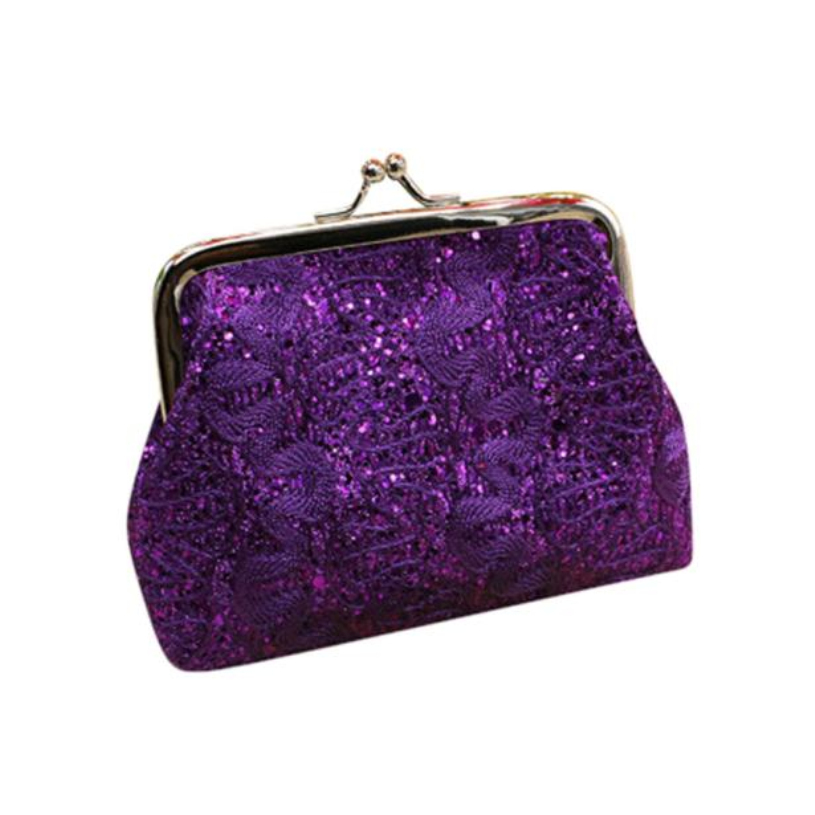 Brand new Women Coin Purses Fashion 2017 Small Sequin Wallets clutch High quality women clutch Ladies bags portefeuille femme