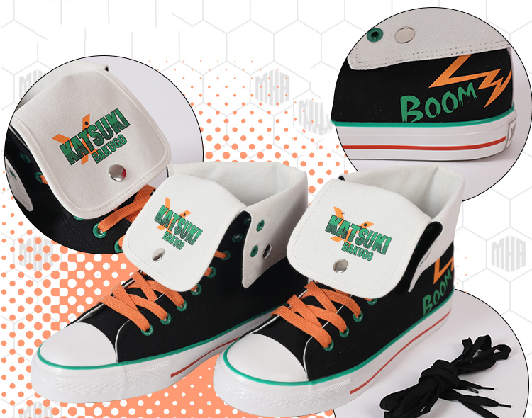 Anime My Hero Academia Cosplay Shoes Boots Izuku Midoriya Katsuki Bakugou Shouto Todoroki Halloween Party Cosplay Costumes