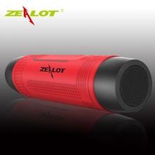 Coluna Bluetooth Speaker Subwoofer Baixo Alto-falantes Sem Fio de Bicicleta Ao Ar Livre Portátil Power Bank + LED light + Mosquetão