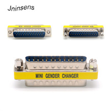 Converter Adapter High Quality M-M DB25 Mini Gender Changer 25 Pin Converter Adapter DB25 to DB25 Male to Male Parallel Port Printer Adapter