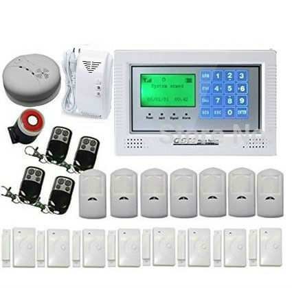 Russian/Spanish/French /Italian/Czech/Portuguese Wireless Home and Business Security Alarm System DIY Kit with Auto Dial