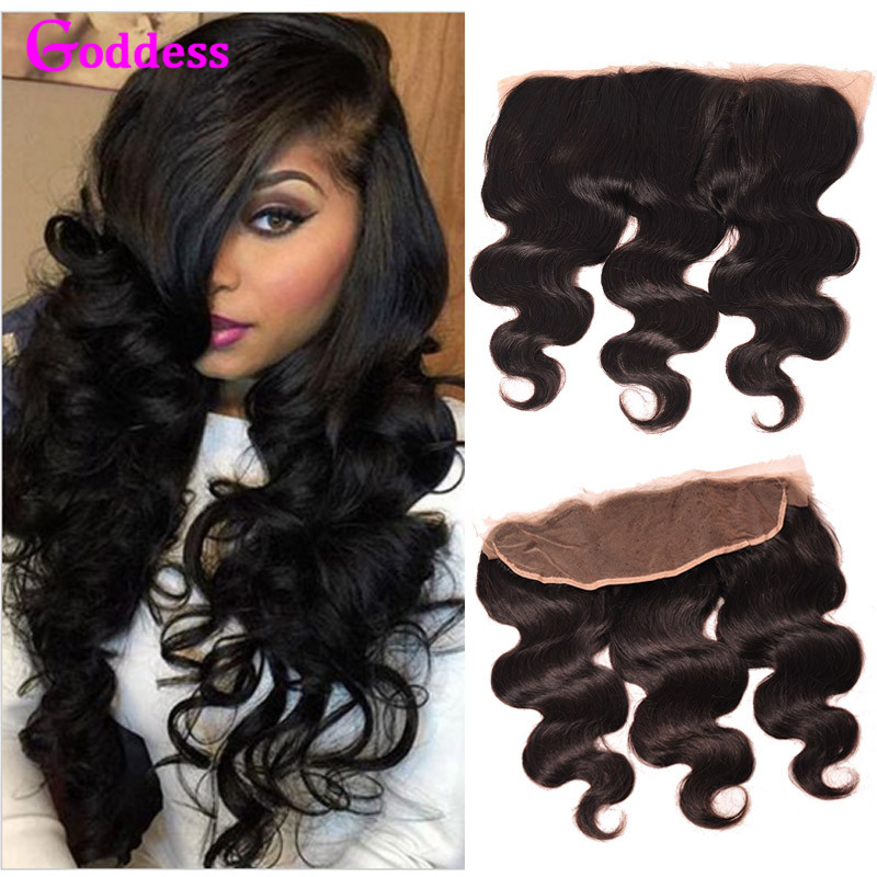 ФОТО 7A Full Frontal Lace Closure 13x4 Ear To Ear Lace Frontal With Baby Hair Brazilian Body Wave Frontal Closure Human Hair Weave