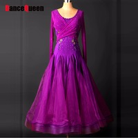 2018 New Ballroom Dance Dress Women Vestido De Formatura Flamenco Dresses Lulu Dance Dress Waltz Dresses Rainbow Tutu For Adults