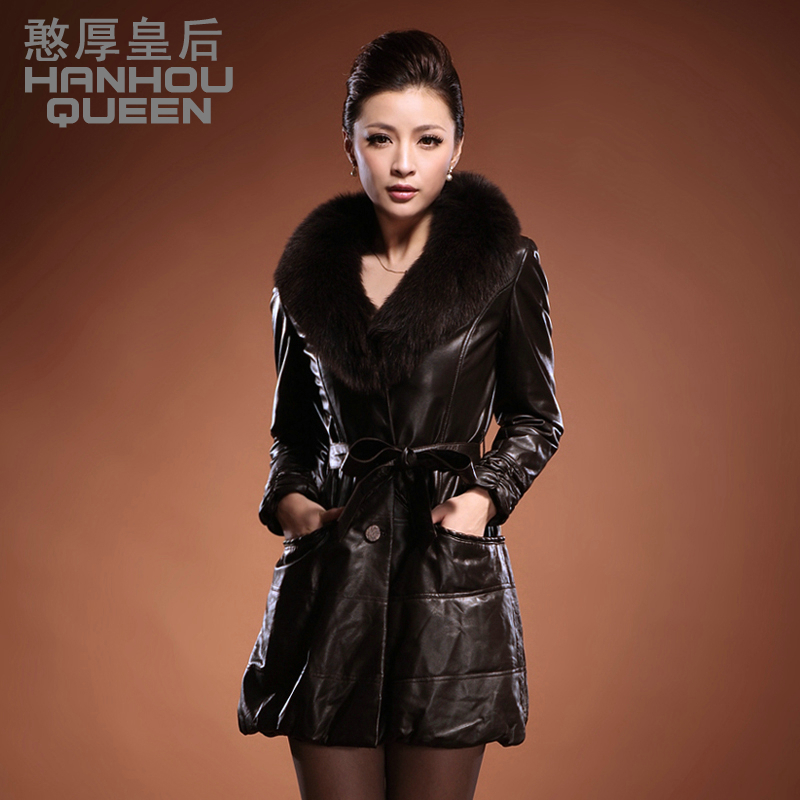 Aliexpress.com : Buy 2013 New Ladies' Genuine leather coat,Elegant ...