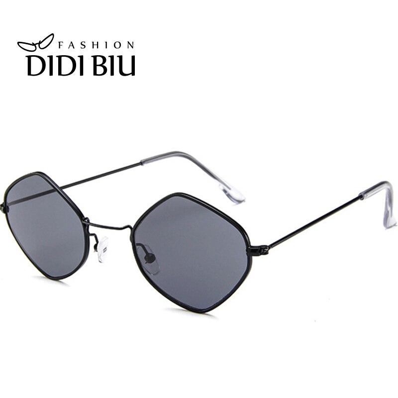 DIDI Rhombus Triangle Kleine Sonnenbrille Frauen Männer Transparent - Bekleidungszubehör - Foto 4