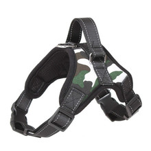 Adjustable K9 Dog Harness Vest Reflective No Pull Pet Walking Dogs Collars and Harnesses for Small Medium Large