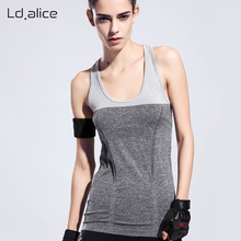 7 Colors Summer Women Sports Tank Tops Dry Quick Loose Gym Shirts Fitness Sport Sleeveless Vest Singlet for Running Underwears