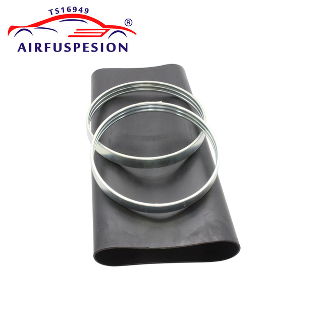 Rear Rubber Air Spring Sleeve With Rings for mercedes W220 Air Suspension Bladder 2203205013  2203202338