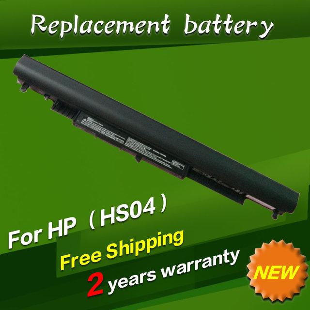 Jigu hs03 hstnn-lb6v hs04 para pavilion 14-ac0xx 15-ac0xx bateria do portátil para hp 245 255 250 240 hstnn-lb6u g4 notebook pc