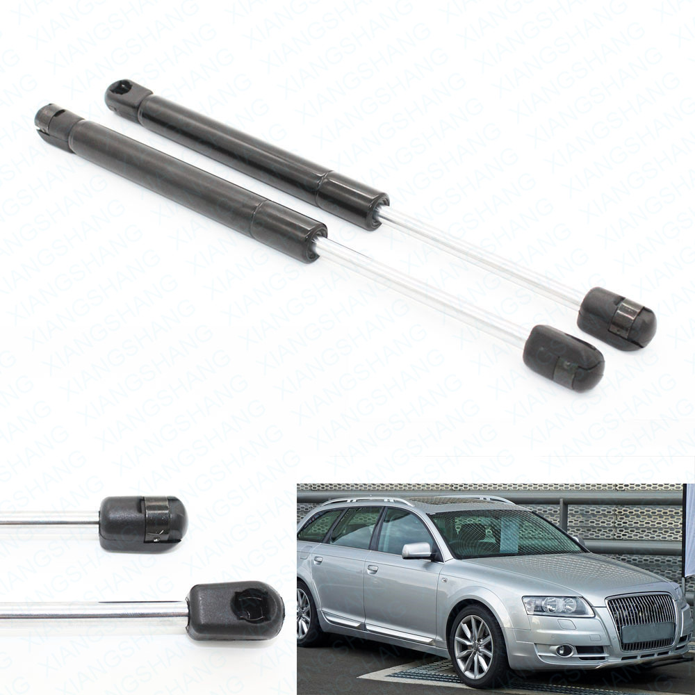 2pcs Tailgate Rear Trunk Boot Lift Supports Gas Struts Lift Springs for Audi A6 Quattro A4 Quattro Sedan 2005 2007 2008 30 cm