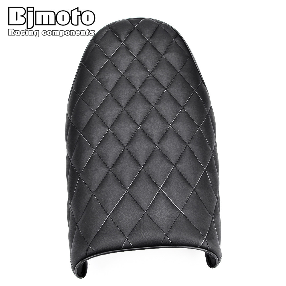 Bjmoto Motorcycle Seat Saddle Cafe Racer Hump For Honda Suzuki Kawasaki KZ400 KZ550 K750 Z650 W650