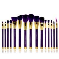 15 Pcs Eye Shadow Eyebrow Brush Brand Makeup Brushes Professional Cosmetic Kits Make Up Brush Set