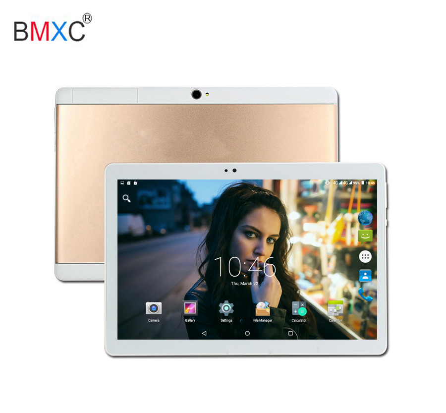 BMXC 10 inch Android 7.0 Octa Core tablet 2018 3G 4G LTE Dual SIM Phone Call 10 Cores 64GB 10 10.1 IPS HD 1920*1200 Screen GPS bmxc new arrival 4g tablet android 7 0 tablet 10 1 inch octa 10 core gps kids 10 3g phone call bluetooth gifts