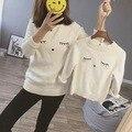 Mãe e Filha Roupas Outono Inverno Blusas Família Combinando Blusas de Roupas para A Mãe e As Crianças Moda Cardigan Sweaters