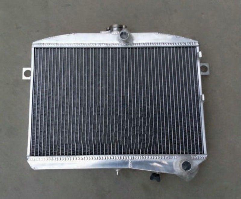 56mm aluminum radiator FOR Volvo Amazon P1800 B18 B20 engine GT 1959 1970 M T 1960