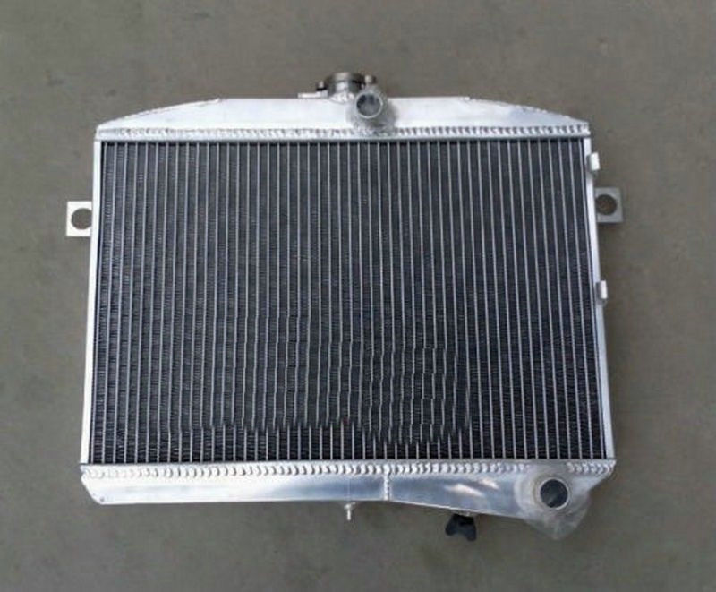 56mm aluminum radiator FOR Volvo Amazon P1800 B18 B20 engine GT 1959 1970 M/T 1960 61 62 63-in Oil Coolers from Automobiles & Motorcycles    1