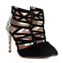Women High Heels Roman Sandals
