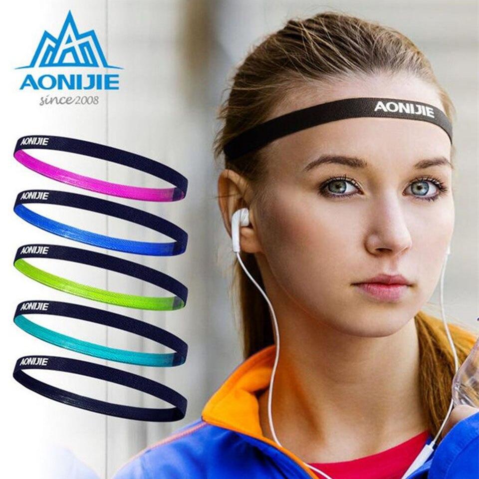 Women Sports Headscarf Headband Yoga Hairband Sweatband Printing Elastic 1PC