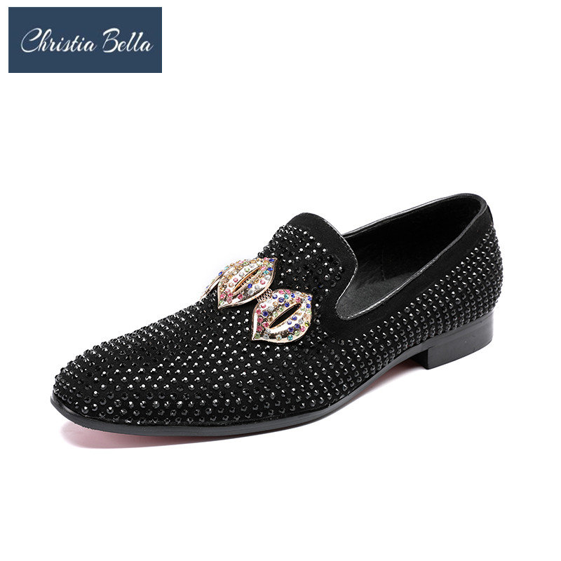 Christia Bella Slip On Shoes Party And Wedding Dress Men S Flats