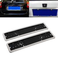Auto Car Vehicle Truck Steel Plastic Number License Plate Frame Holder Case auto frame for numbers Universal car accessories