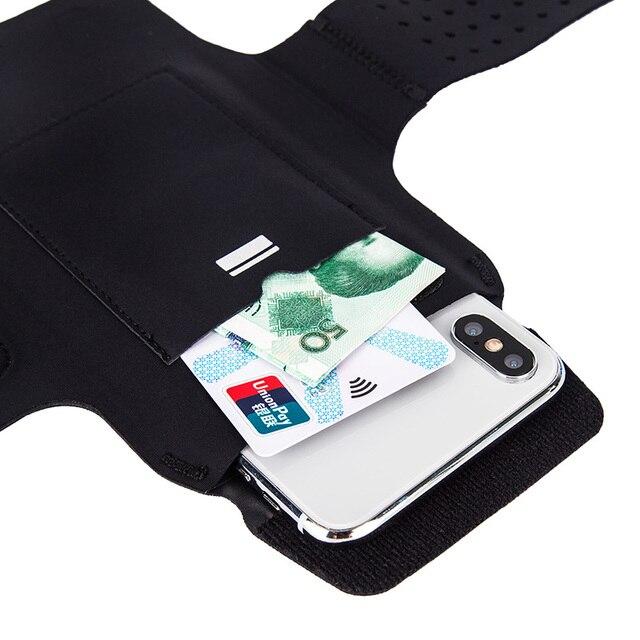 Uniwersalny uchwyt na telefon sportowy na zewnątrz etui z opaską na ramię do Samsung S10 S9 S8 S7 S6 Gym Running etui na telefon do Huawei P30 Pro P20