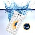 À prova d' água Dry bag Pouch, esr ipx8 underwater mergulho natação cinta case dirtproof snowproof bolsa para 6 polegada iphone 6 plus/s7
