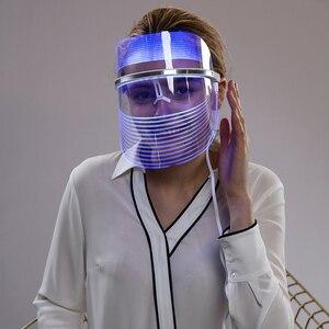 Image 1 - Led פנים מסכת טיפול עור התחדשות נגד הזדקנות פנים מסכת יופי סלון ביתי יופי Led טיפול מכונת לאישה איש