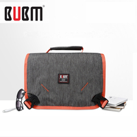 BUBM toiletries bag makeup bag with two handle two face mesh pocket travel receiving bag clothes bag big capacity,blue grey,rose
