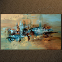 HUGE 100 Handmade Abstract Oil Painting Large Wall Art On Canvas High Quality