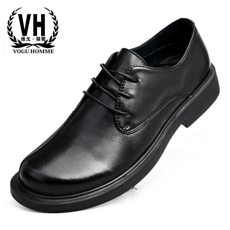 Lazer Mocassins Se Real Vestem Homens Couro Casuais Grandes Tamanho Grande Preto Do De Sapatos Primavera Negócios Britânico Natural Aw7xI16