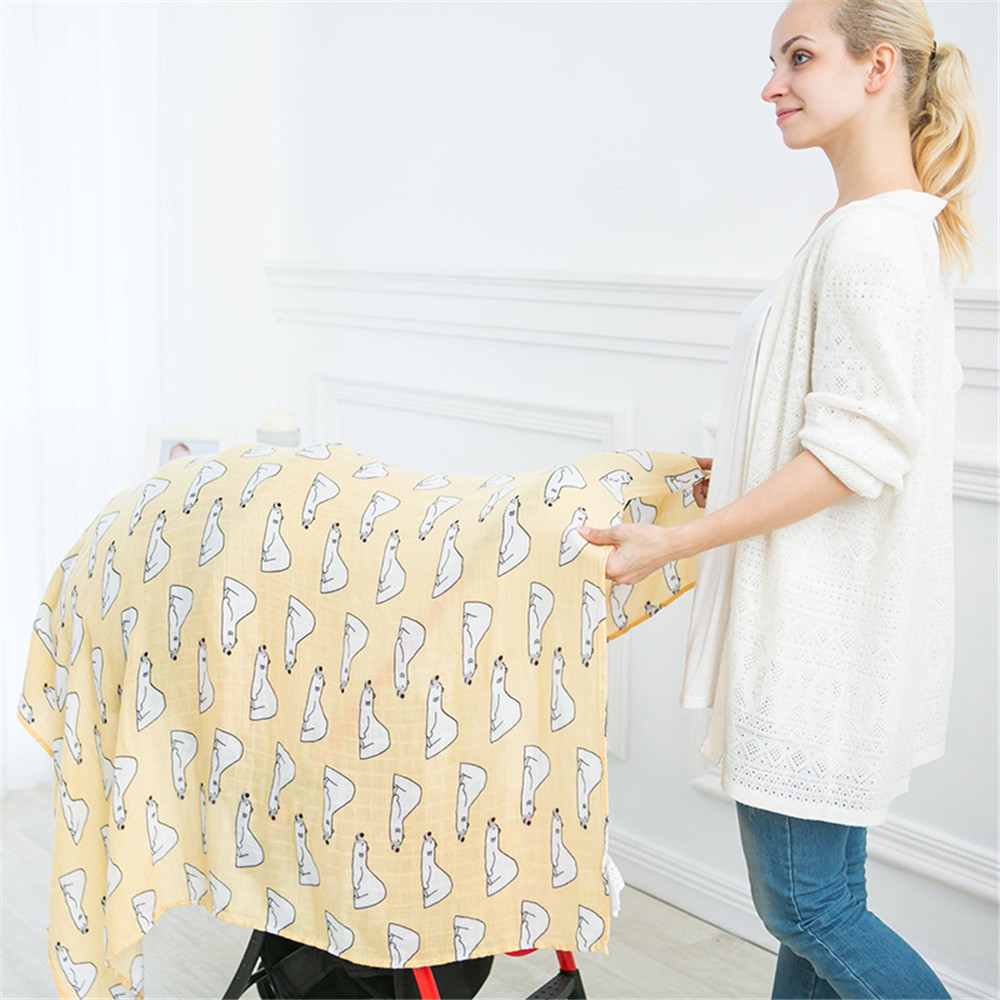 Muslin Wrap Newborn Infant Swaddle Blanket Baby Photography Wrap Unicorn Baby Blanket Mantas De Bebes Girls Stroller Cover Mat removable liner baby infant swaddle blanket 100