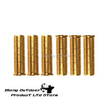 Free shipping 12 pcs brass insert Copper for arrow hunting shooting archery bow