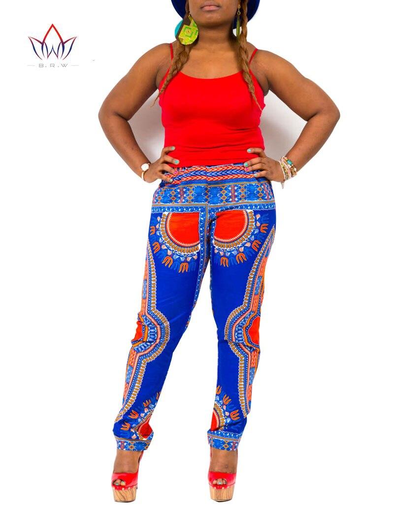 Летний комплект из 2 предметов, брюки и укороченный топ, большие размеры, женская одежда в африканском стиле, штаны с принтом для женщин, комплект со штанами в африканском стиле, BRW WY654 - 4
